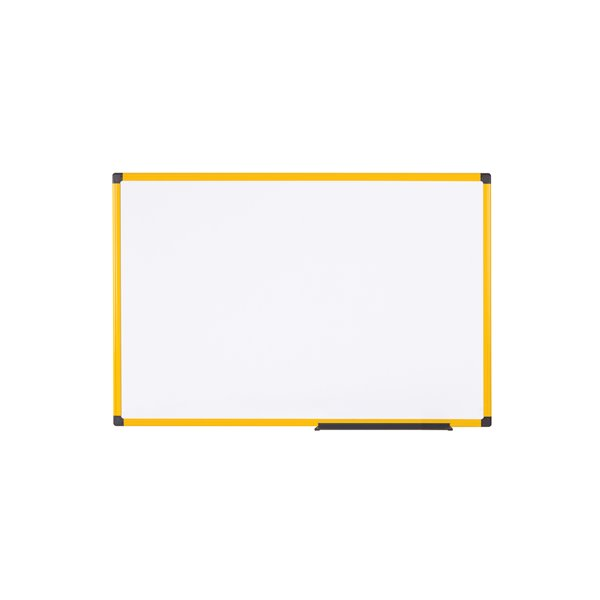 Magnetic Ultrabrite Lacquered steel drywipe board 900 x 600