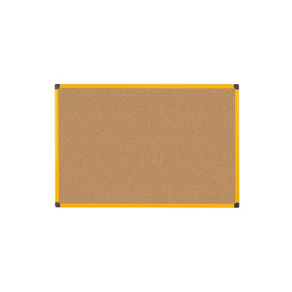 Cork Bi Office Ultrabrite Cork 60x90 Aluminium Frame