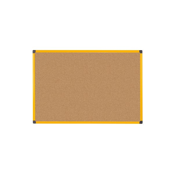 Cork Bi Office Ultrabrite Cork 120x90 Aluminium Frame