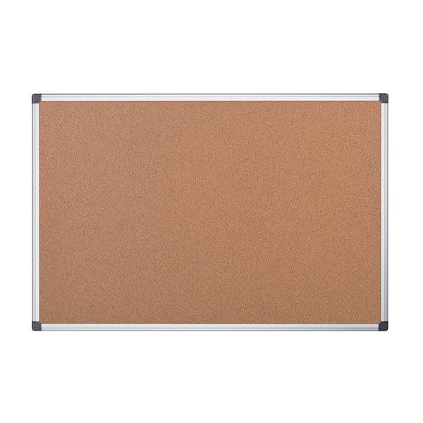 Bi Office Cork Noticeboard 2 Sided 900 x 900mm