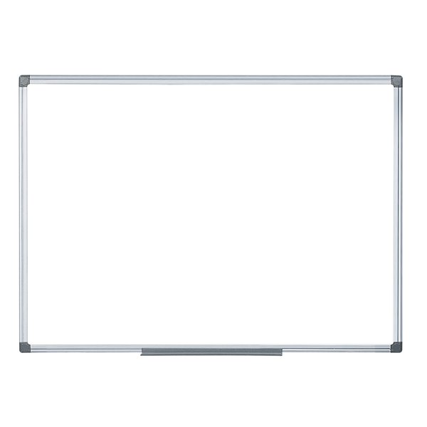 Magnetic Bi Office Magnetic Whiteboard 2 Sided 900 x 900mm