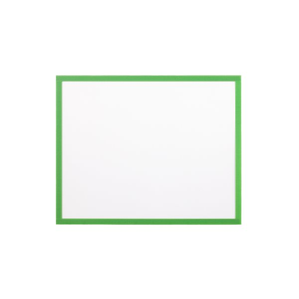 Display Panels Bi Office Adhesive Document Holder Green A4