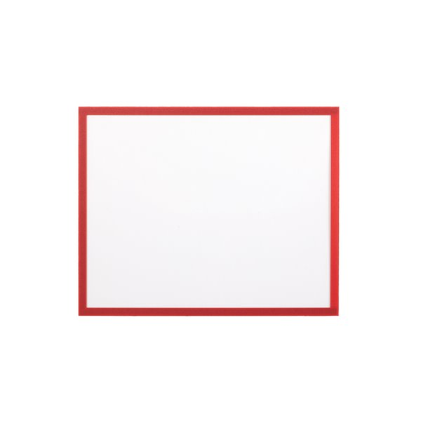 Display Panels Bi Office Adhesive Document Holder Red A4