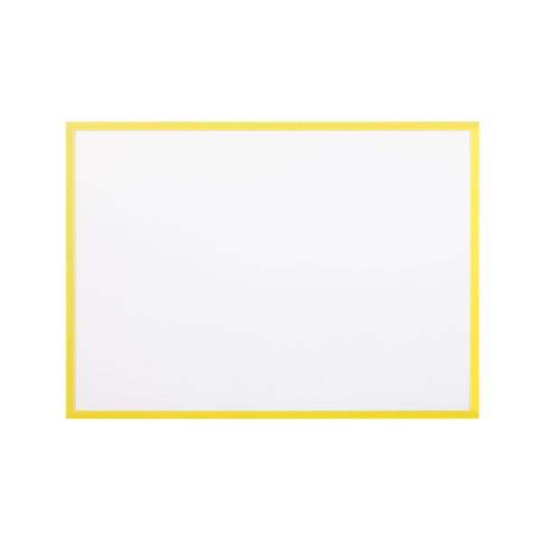 Display Panels Bi Office Magnetic Document Holder Yellow A3