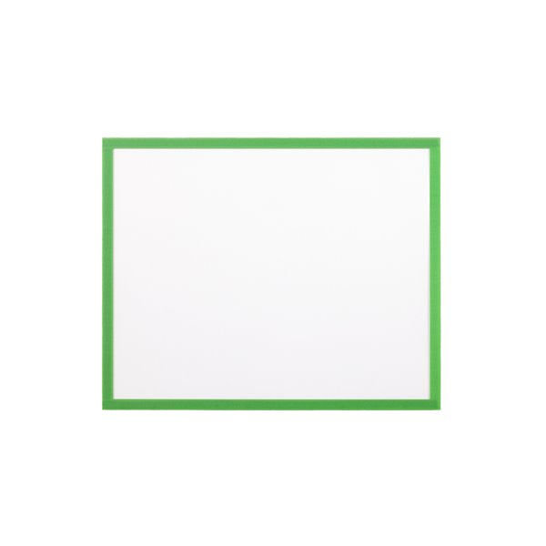 Display Panels Bi Office Magnetic Document Holder Green A4