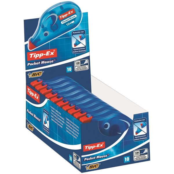 Tipp-Ex Pocket Mouse Correction Tape White PK10