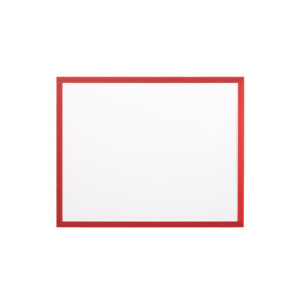 Display Panels Bi Office Magnetic Document Holder Red A4