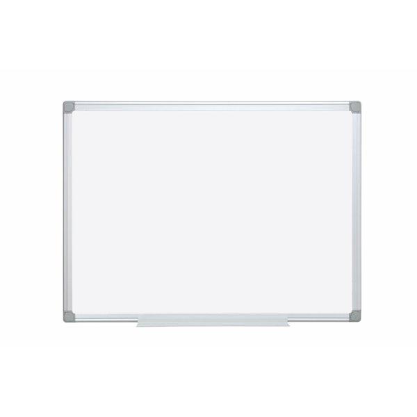 Magnetic Bi-Office Earth Enamel Drywipe 180x120 Aluminium Frame
