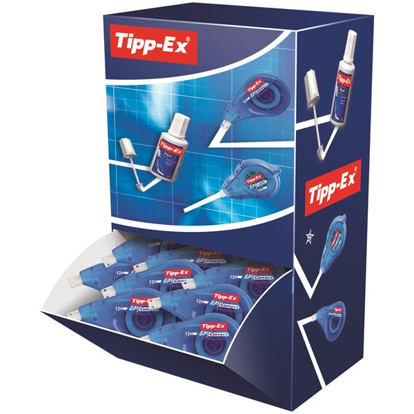 Tipp-Ex EasyCorrect Correction Roller Tape White Pk15 Plus 5