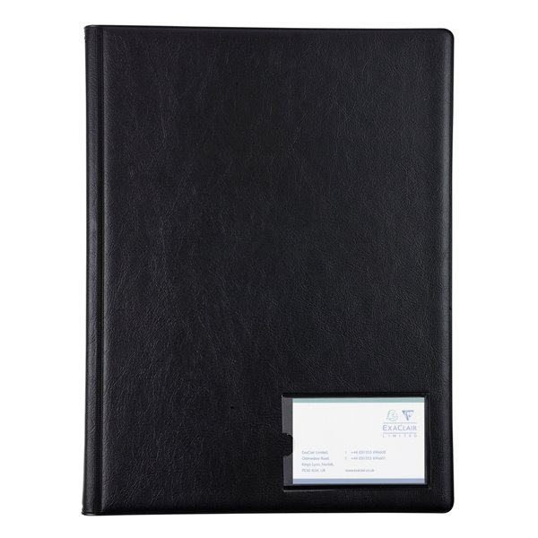 Guildhall Display Book A4 12 Pockets Black