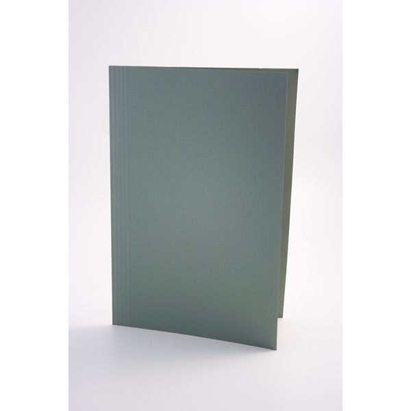 Guildhall Square Cut Folder Foolscap 250gsm Green PK100