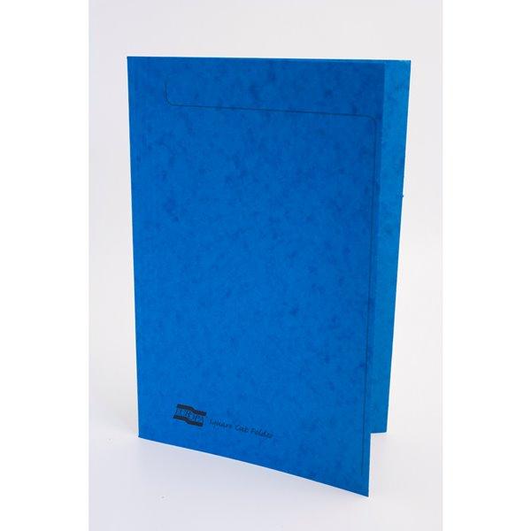 Square Cut Folders Europa Square Cut Folder 349x242mm Blue PK50