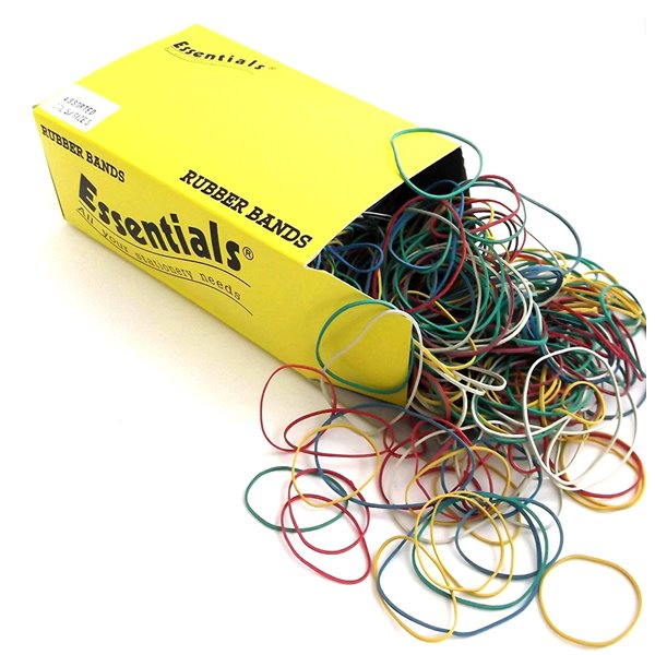 Rubber Bands Value Box Of Rubber Bands Assorted 454g