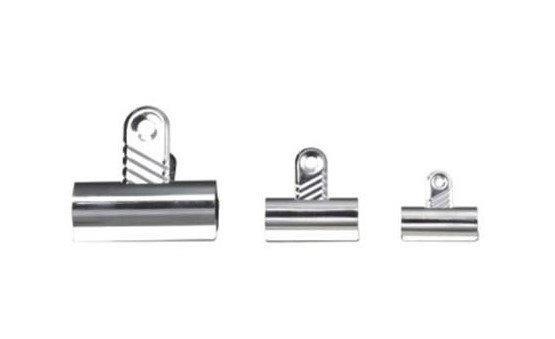 Value Letter Clip 30mm Silver PK10