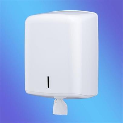 Hand Towels & Dispensers Value White Plastic Centrefeed Dispenser