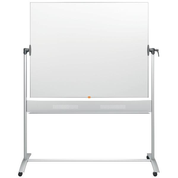 Magnetic Nobo Prestige Enamel Magnetic Mobile Board 1500x1200mm