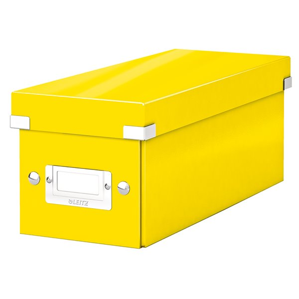 Tool Boxes Leitz Click & Store CD Storage Box Yellow