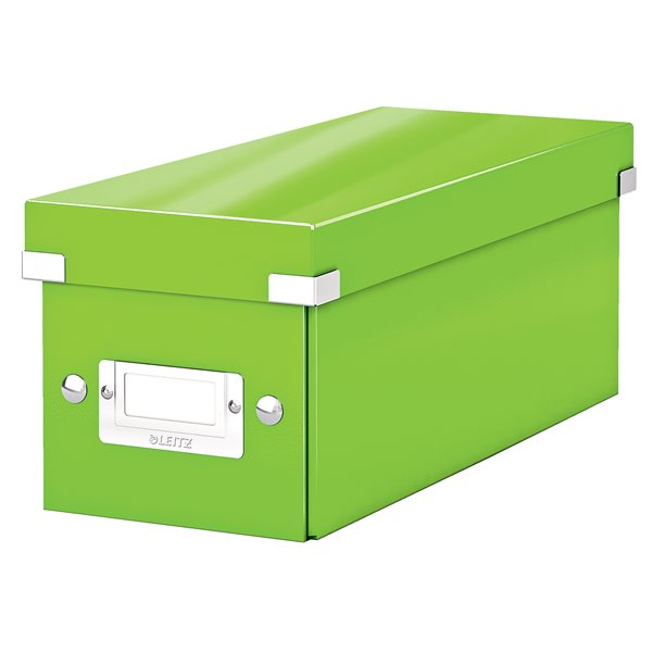 Leitz Click & Store CD Storage Box Green