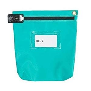 Versapak Antimicrobial Cash Bag SM 152x178x50mm T2 lock