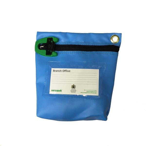 Bags Versapak Antimicrobial Cash Bag Med 267x267x50mm T2 lock