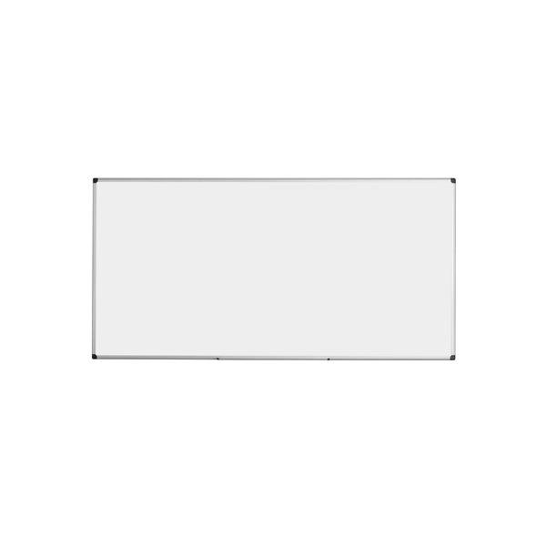 Magnetic Bi-Office Vitreous Enamel Steel Drywipe  180x90 Ali Frame