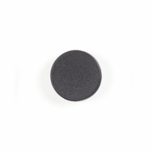 Bi-Office 10 Magnets 20mm Black