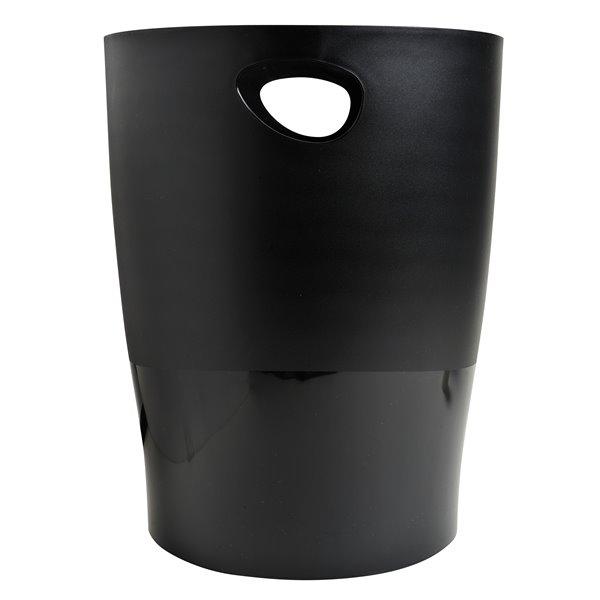 Rubbish Bins Exacompta ECOBIN ECOBLACK 263x263x335mm