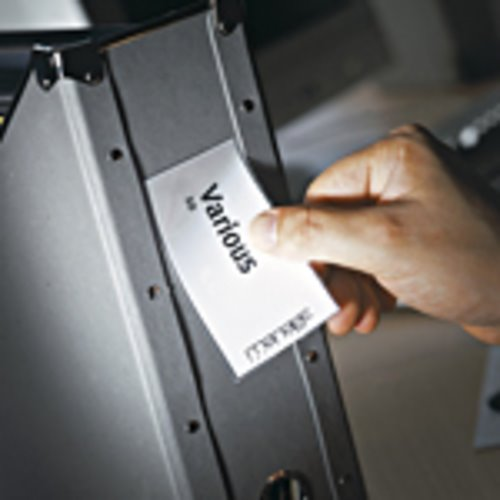 Self Adhesive Pockets Value 3L Self Adhesive Label Holders 35x102mm 10325(PK12)