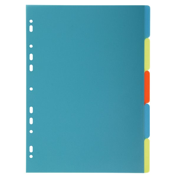 Dividers Forever PP A4 Dividers 5 Part
