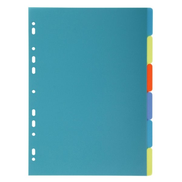 Dividers Forever PP A4 Dividers 6 Part