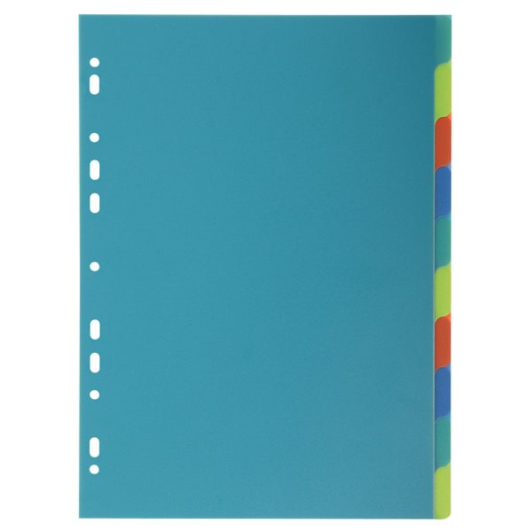 Dividers Forever PP A4 Dividers 10 Part