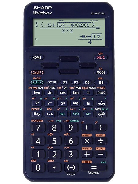 Sharp ELW531T  Scientific Calculator Blue