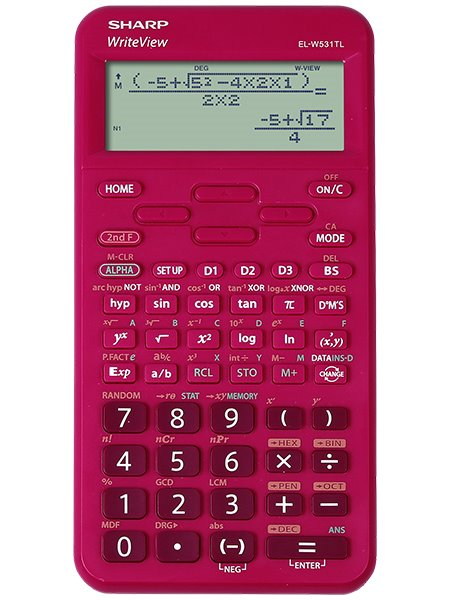 Sharp ELW531T  Scientific Calculator Raspberry