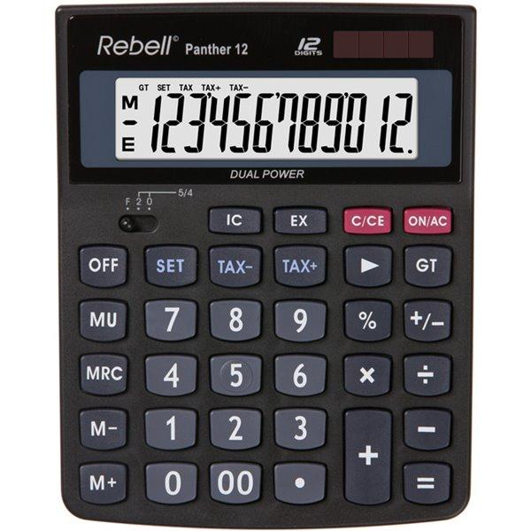 Rebell RE-PANTHER 12 BX Desktop Calculator 12 Digit