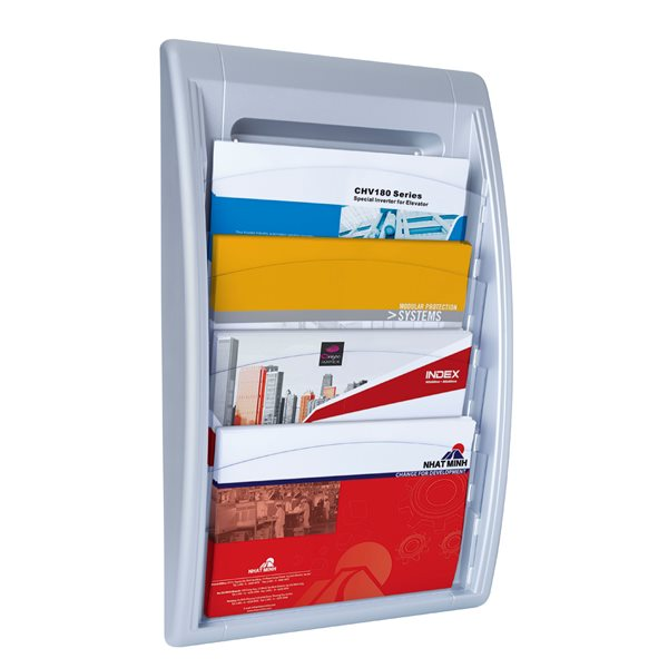 Literature Holders Fast Paper Oversized Quick Fit Wall Display SL