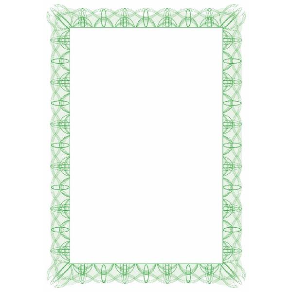 Certificate Paper & Covers Computer Craft Green Reflex A4 Certificate Paper PK30