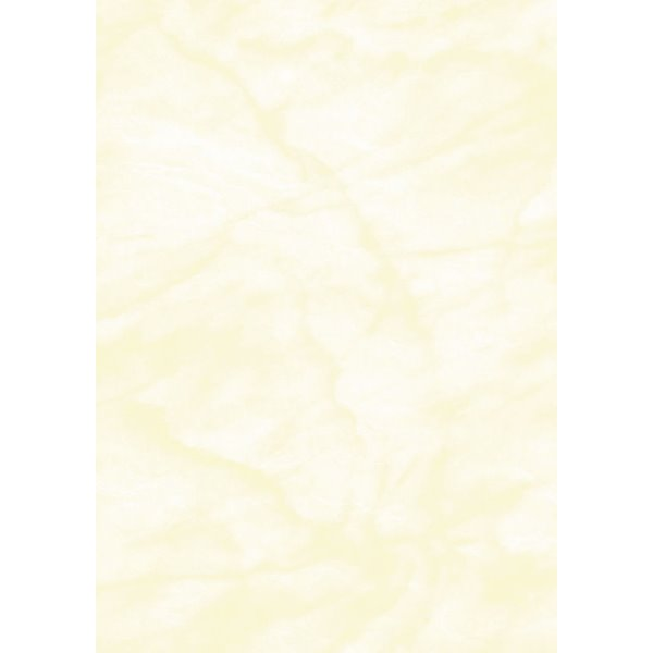 Certificate Paper & Covers Computer Craft Marble Yellow A4 Paper PK100