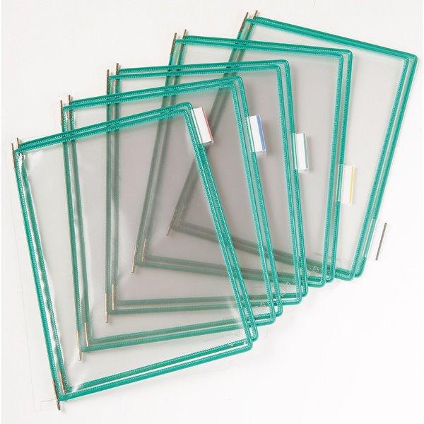 Tarifold A4 Pivoting Pockets Green