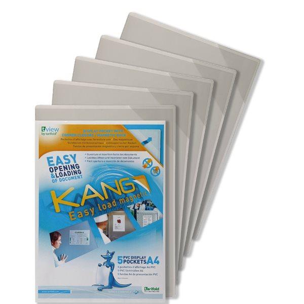 Part Files Tarifold Kang A4 Magnetic Pockets PK5