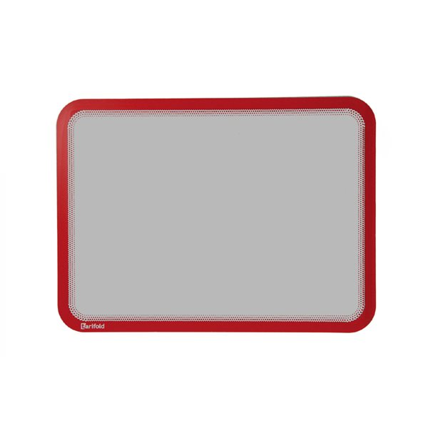 Part Files Tarifold Magneto Self Adhesive Display Frame Red A4 PK2