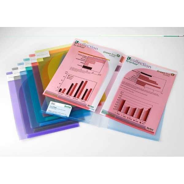 Part Files Tarifold A4 / A3 Presentation Folders Assorted