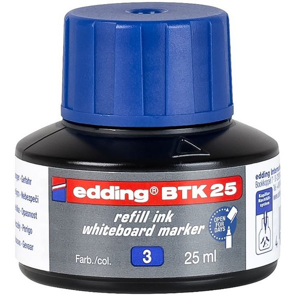 edding BTK 25 Refill Ink For Whiteboard Marker Blue