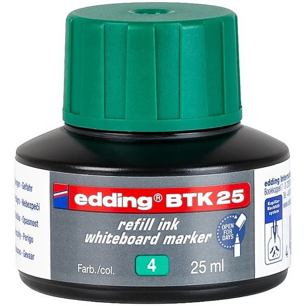 edding BTK 25 Refill Ink For Whiteboard Marker Green