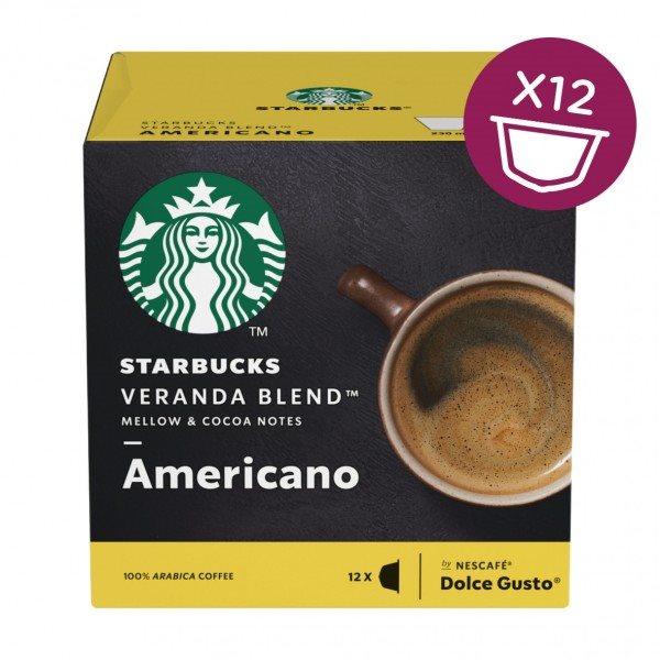 Coffee STARBUCKS by Nescafe Dolce Gusto AMERICANO VERANDA PK3
