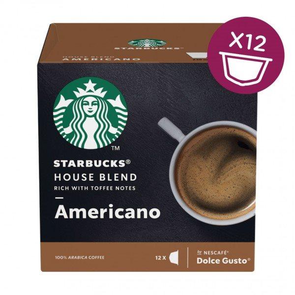 Coffee STARBUCKS by Nescafe Dolce Gusto AMERICANO HOUSE BLEND PK3