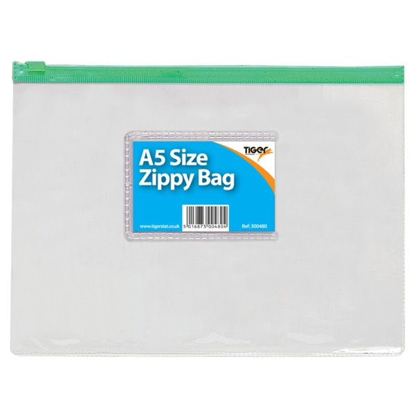 Tiger A5 Zippy Bag PK12