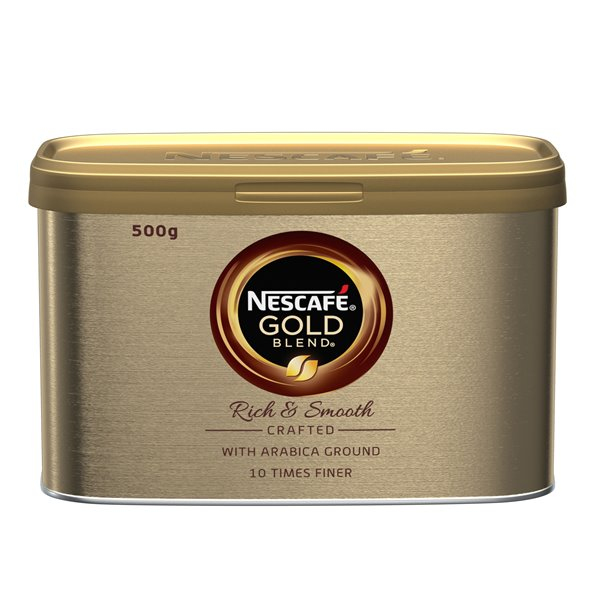 Coffee Nescafe Gold Blend Instant Coffee 500g (Pack 6)