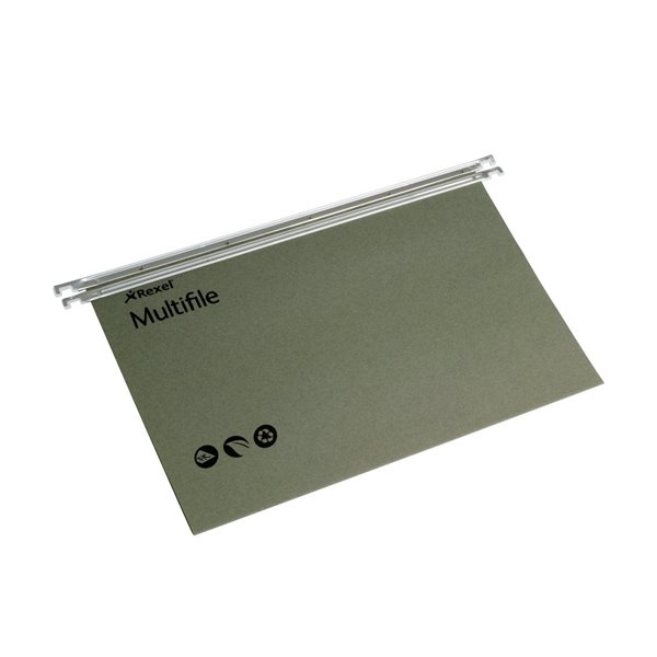 Suspension File Rexel Suspension Multifile A4 Green PK50