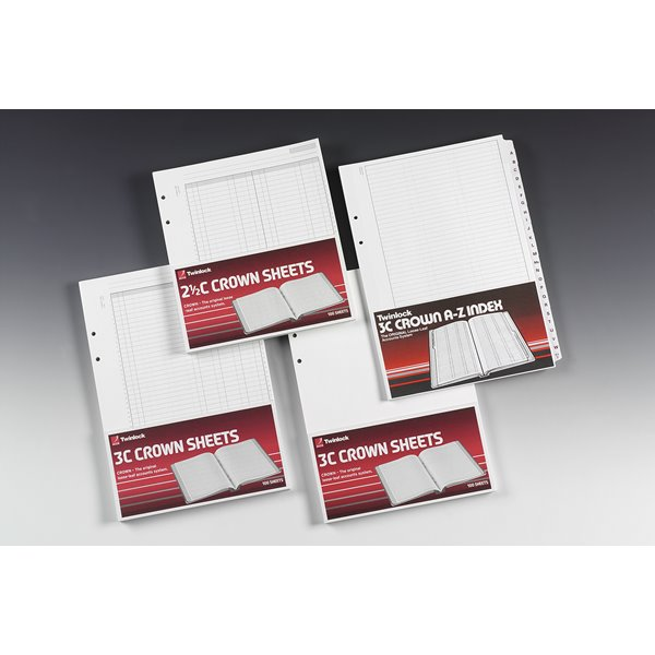 Twinlock Cash Sheets Treble Cash PK100