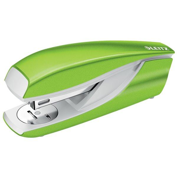 Long Arm Staplers Leitz New NeXXt WOW Metal Office Stapler 30sh Green